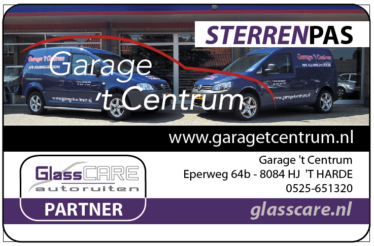 Sterrenpas Garage t Centrum